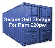 Nottingham Self Storage Container Rental