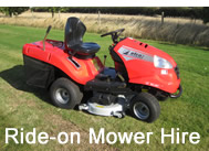 TSW Services hire out Ride-on Mowers