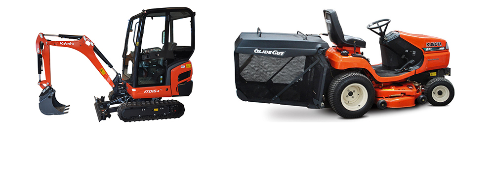We Hire out all types of Garden and Agricultural Machinery